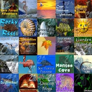 Nature, Ocean, Seasons, Science Screen Savers
